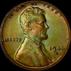 1946 D obv