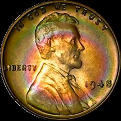 1948 Lincoln obv