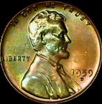 1959 D obv