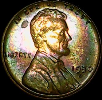 1950 D obv