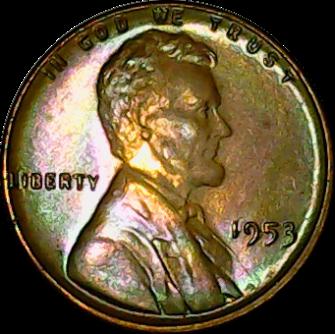 1953 obv