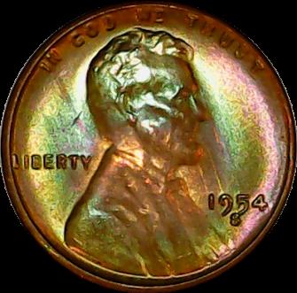 1954 S obv 1