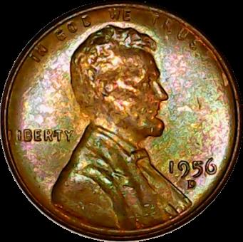 1956 D obv