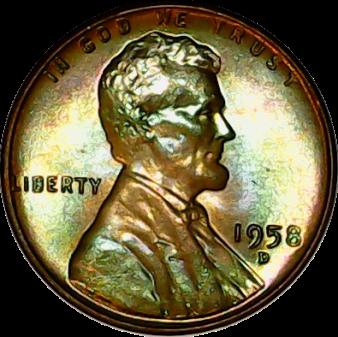 1958 D obv