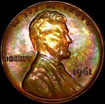 1961 obv